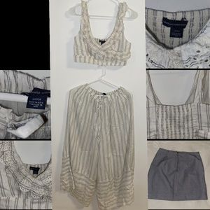 AMERICAN EAGLE TWO PIECE SET.